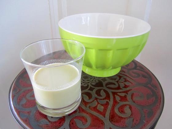 My first taste of Pistachio milk