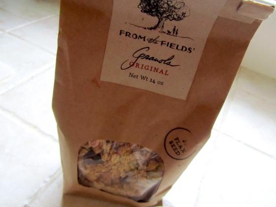 Farm to Fields Granola
