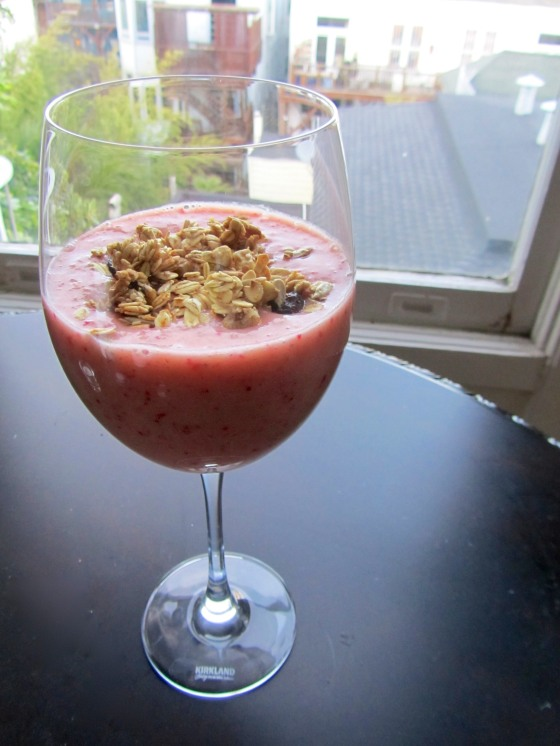 Berry Orange Smoothie