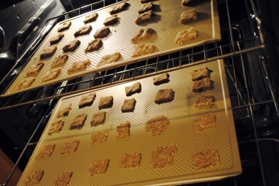 Baking crackers