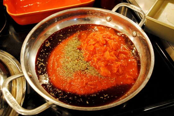 Pizza sauce ingredients