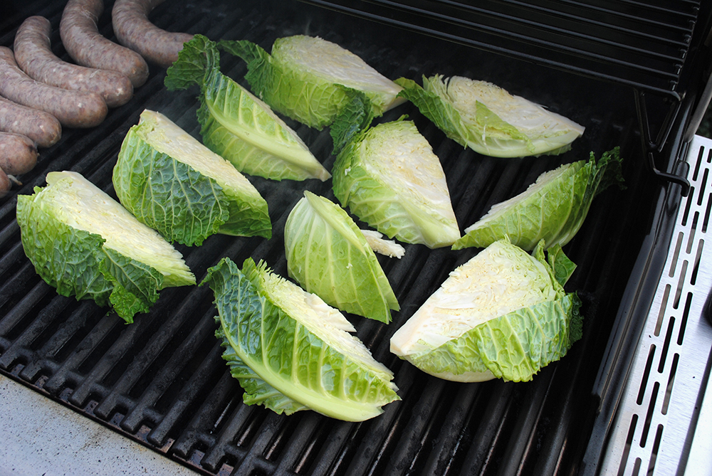 Grilled Cabbage with Honey Mustard Dressing [MMAZ] | Pas ...