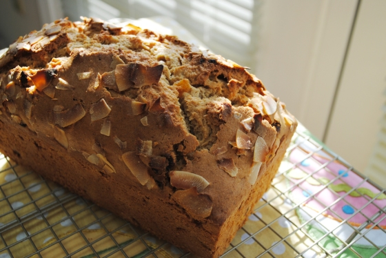Apricot Coconut Quick Bread