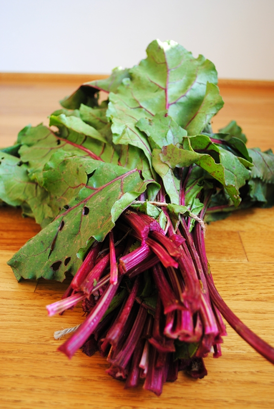 Beautiful beet greens